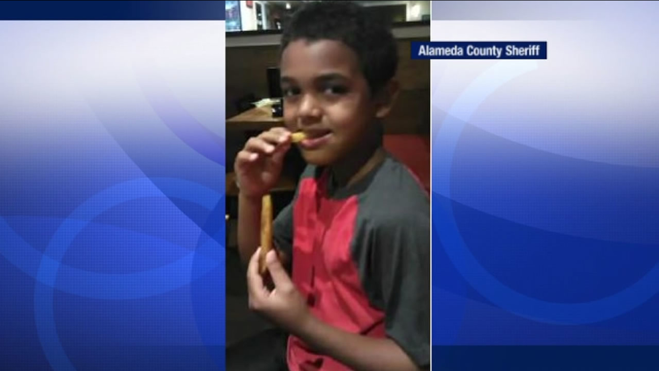 Alameda County Sheriff's deputies are trying to find a seven-year-old-boy, named Markeidon Jules, who went missing from Dublin, Calif., on Saturday, Aug. 13, 2016.