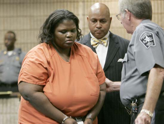 "<div class=""meta image-caption""><div class=""origin-logo origin-image ap""><span>AP</span></div><span class=""caption-text"">Shaquan Duley confessed to suffocating her two toddlers sons in 2010. She was sentenced to 35 years in prison. (AP Photo/Mary Ann Chastain)</span></div>"