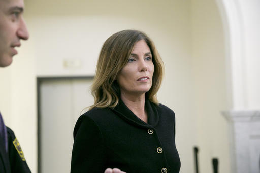 "<div class=""meta image-caption""><div class=""origin-logo origin-image ap""><span>AP</span></div><span class=""caption-text"">Pennsylvania Attorney General Kathleen Kane leaves the courtroom after closing arguments in her perjury and obstruction trial at the Montgomery County Courthouse. (AP)</span></div>"