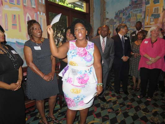 <div class='meta'><div class='origin-logo' data-origin='KTRK'></div><span class='caption-text' data-credit=''>Ashley Turner, daughter of Houston Mayor Sylvester Turner at Bee Busy Wellness Center Fundraiser</span></div>
