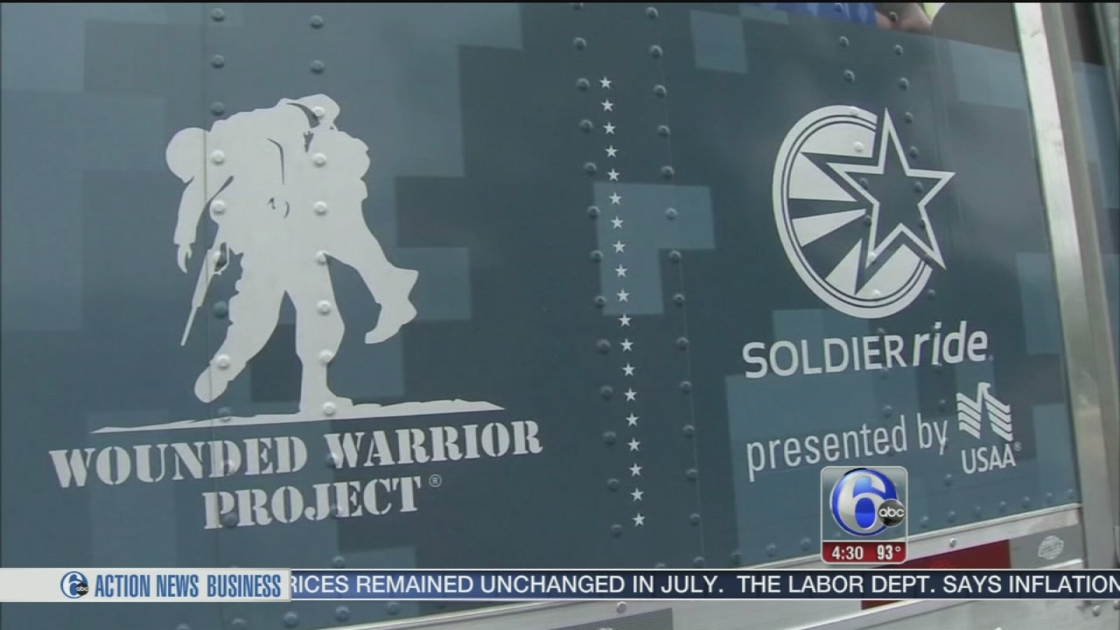$40,000 worth of gear stolen from Wounded Warriors