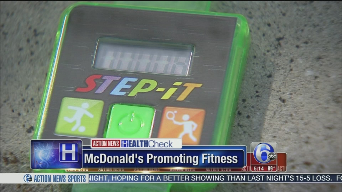 VIDEO: McDonald's serving up fitness trackers in Happy Meals