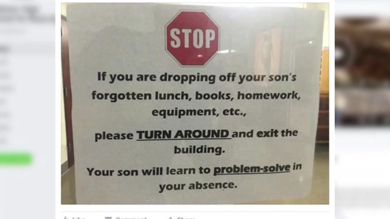 This High School Principals Strict Rule About Parents Dropping Off Forgotten Items Is Going Viral recommend