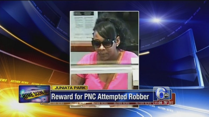 Woman sought in attempted robbery at PNC Bank in Juniata Park | 6abc com