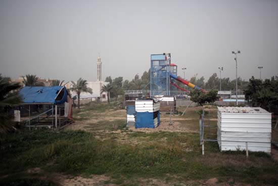 "<div class=""meta image-caption""><div class=""origin-logo origin-image ap""><span>AP</span></div><span class=""caption-text"">Damaged animals cages are seen in Al-Bisan Zoo in northern Gaza Strip. (AP Photo/ Khalil Hamra)</span></div>"