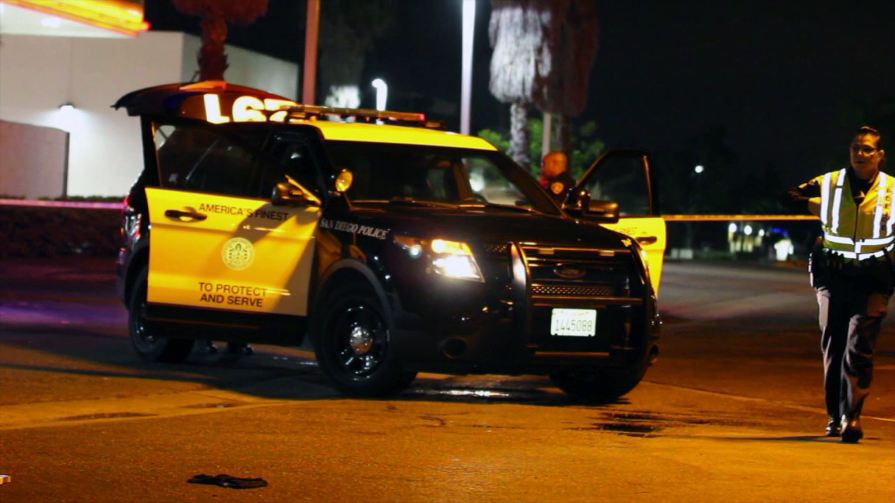 San Diego police said 34-year-old Jonathan Merkley, of Garden Grove, was run over and killed while celebrating his birthday in the early morning hours of Sunday, Aug. 21, 2016.