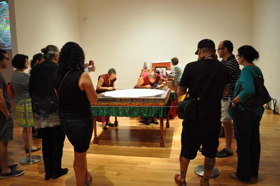 <div class='meta'><div class='origin-logo' data-origin='KTRK'></div><span class='caption-text' data-credit=''>Drepung Loseling monks created a sand mandala at Asia Society Texas Center</span></div>