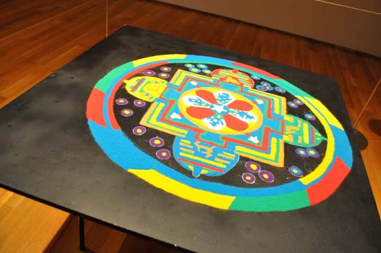 "<div class=""meta image-caption""><div class=""origin-logo origin-image ktrk""><span>KTRK</span></div><span class=""caption-text"">Drepung Loseling monks created a sand mandala at Asia Society Texas Center</span></div>"