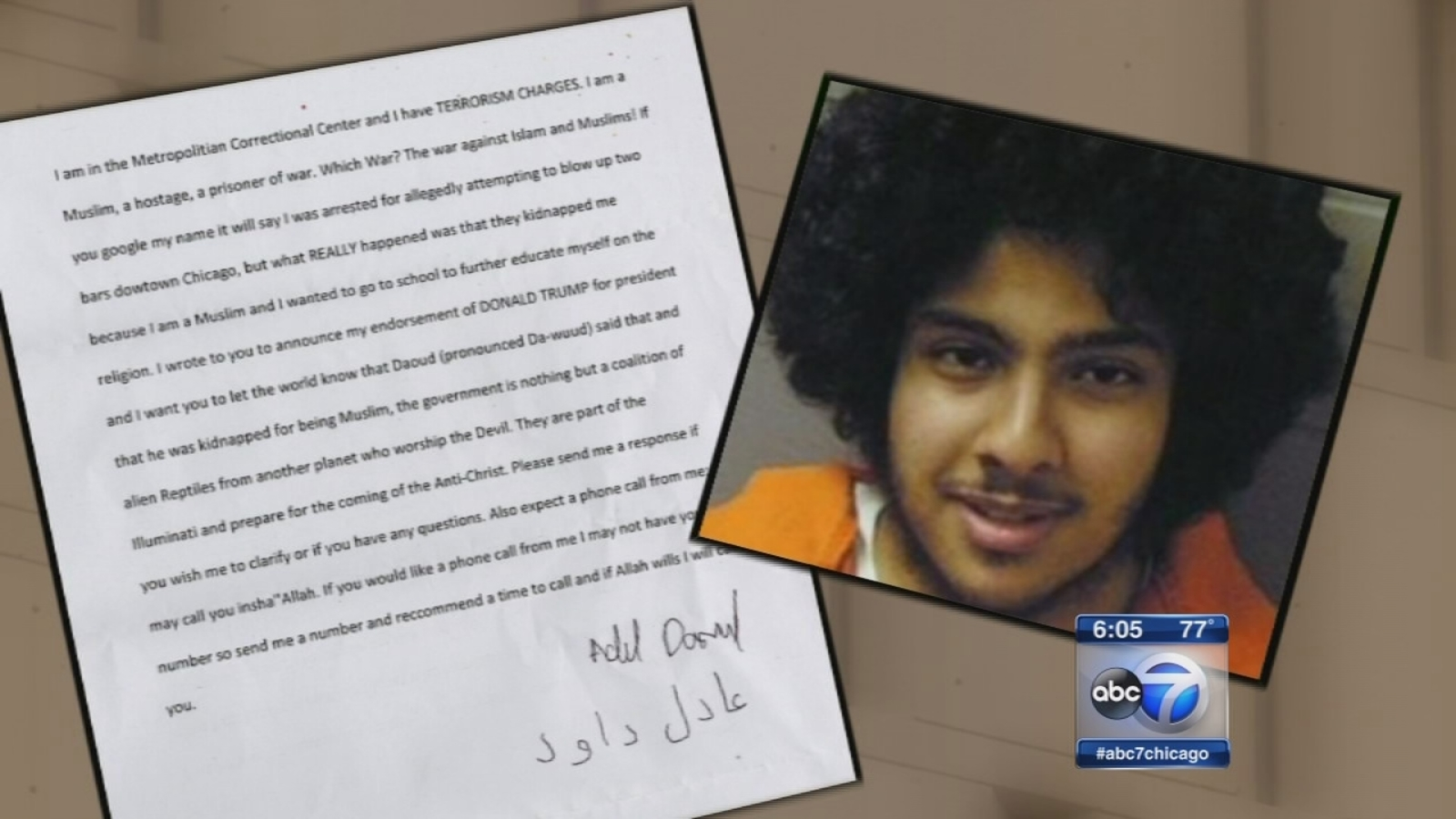 Chicago judge finds terrorism suspect unfit to go to trial
