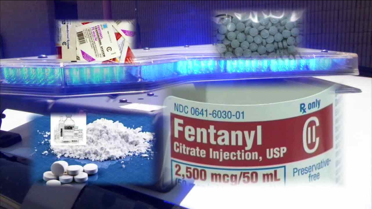 In an Eyewitness News exclusive, ABC7 investigates how fentanyl, a prescription painkiller, has turned into a deadly cocktail being sold on Los Angeles streets.