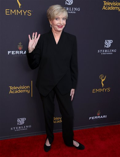 "<div class=""meta image-caption""><div class=""origin-logo origin-image ap""><span>AP</span></div><span class=""caption-text"">Florence Henderson arrives at the Television Academy's Performers Emmy Celebration at the Montage Beverly Hills on Monday, Aug. 22, 2016. (Matt Sayles/Invision/AP)</span></div>"