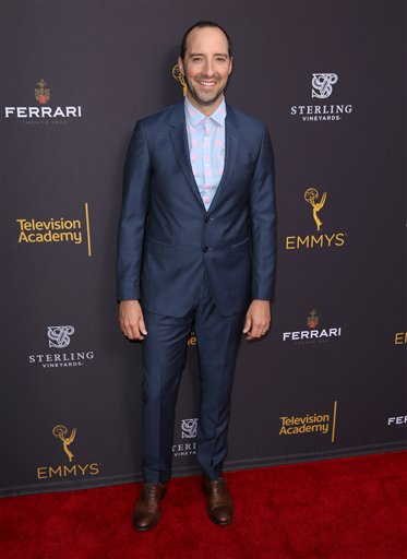"<div class=""meta image-caption""><div class=""origin-logo origin-image ap""><span>AP</span></div><span class=""caption-text"">Tony Hale arrives at the Television Academy's Performers Emmy Celebration at the Montage Beverly Hills on Monday, Aug. 22, 2016. (Matt Sayles/Invision/AP)</span></div>"