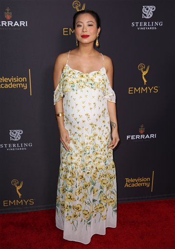 """<div class=""""meta image-caption""""><div class=""""origin-logo origin-image ap""""><span>AP</span></div><span class=""""caption-text"""">Michelle Ang arrives at the Television Academy's Performers Emmy Celebration at the Montage Beverly Hills on Monday, Aug. 22, 2016. (Matt Sayles/Invision/AP)</span></div>"""