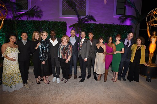 """<div class=""""meta image-caption""""><div class=""""origin-logo origin-image ap""""><span>AP</span></div><span class=""""caption-text"""">Stars attend the Television Academy's Performers Emmy Celebration at the Montage Beverly Hills on Monday, Aug. 22, 2016. (Jordan Strauss/Invision/AP)</span></div>"""