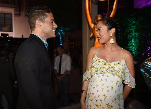 "<div class=""meta image-caption""><div class=""origin-logo origin-image ap""><span>AP</span></div><span class=""caption-text"">Rami Malek, left, and Michelle Ang attend the Television Academy's Performers Emmy Celebration at the Montage Beverly Hills on Monday, Aug. 22, 2016. (Jordan Strauss/Invision/AP)</span></div>"