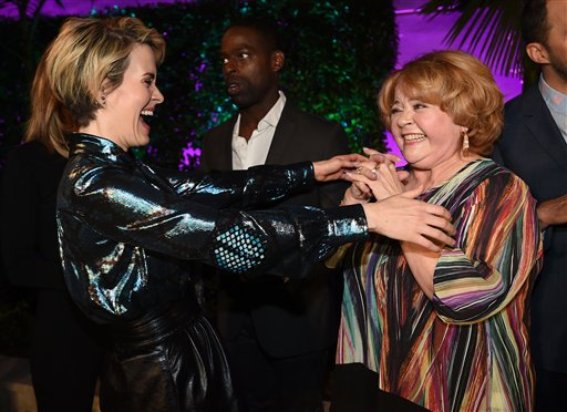 "<div class=""meta image-caption""><div class=""origin-logo origin-image ap""><span>AP</span></div><span class=""caption-text"">Sarah Paulson, left, and Patrika Darbo attend the Television Academy's Performers Emmy Celebration at the Montage Beverly Hills on Monday, Aug. 22, 2016. (Jordan Strauss/Invision/AP)</span></div>"