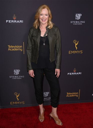 """<div class=""""meta image-caption""""><div class=""""origin-logo origin-image ap""""><span>AP</span></div><span class=""""caption-text"""">Naomi Grossman arrives at the Television Academy's Performers Emmy Celebration at the Montage Beverly Hills on Monday, Aug. 22, 2016. (Matt Sayles/Invision/AP)</span></div>"""