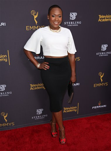 """<div class=""""meta image-caption""""><div class=""""origin-logo origin-image ap""""><span>AP</span></div><span class=""""caption-text"""">Natalie Whittle arrives at the Television Academy's Performers Emmy Celebration at the Montage Beverly Hills on Monday, Aug. 22, 2016. (Matt Sayles/Invision/AP)</span></div>"""