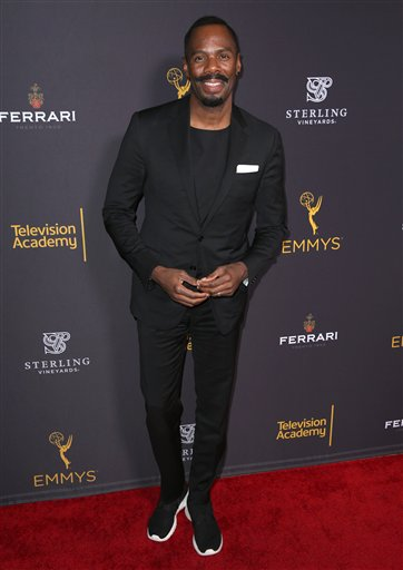 "<div class=""meta image-caption""><div class=""origin-logo origin-image ap""><span>AP</span></div><span class=""caption-text"">Colman Domingo arrives at the Television Academy's Performers Emmy Celebration at the Montage Beverly Hills on Monday, Aug. 22, 2016. (Matt Sayles/Invision/AP)</span></div>"