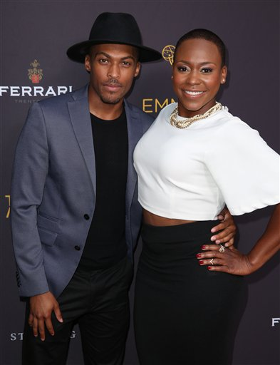 "<div class=""meta image-caption""><div class=""origin-logo origin-image ap""><span>AP</span></div><span class=""caption-text"">Shamar Sanders, left, and Natalie Whittle arrive at the Television Academy's Performers Emmy Celebration at the Montage Beverly Hills on Monday, Aug. 22, 2016. (Matt Sayles/Invision/AP)</span></div>"
