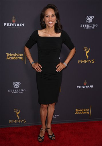 "<div class=""meta image-caption""><div class=""origin-logo origin-image ap""><span>AP</span></div><span class=""caption-text"">Michelle Bonilla arrives at the Television Academy's Performers Emmy Celebration at the Montage Beverly Hills on Monday, Aug. 22, 2016. (Matt Sayles/Invision/AP)</span></div>"