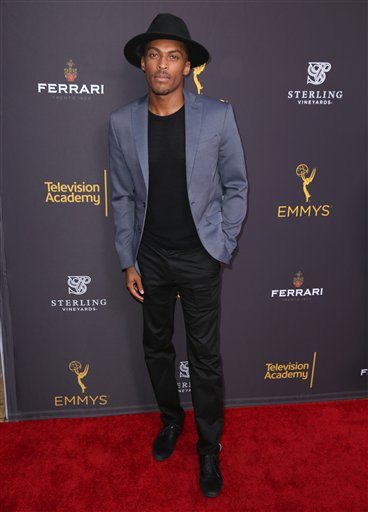 "<div class=""meta image-caption""><div class=""origin-logo origin-image ap""><span>AP</span></div><span class=""caption-text"">Shamar Sanders arrives at the Television Academy's Performers Emmy Celebration at the Montage Beverly Hills on Monday, Aug. 22, 2016. (Matt Sayles/Invision/AP)</span></div>"