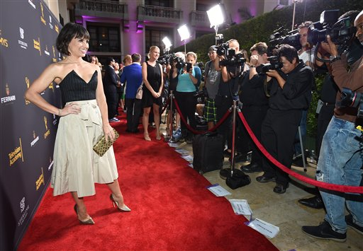 "<div class=""meta image-caption""><div class=""origin-logo origin-image ap""><span>AP</span></div><span class=""caption-text"">Constance Zimmer arrives at the Television Academy's Performers Emmy Celebration at the Montage Beverly Hills on Monday, Aug. 22, 2016. (Jordan Strauss/Invision/AP)</span></div>"