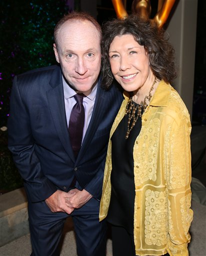 "<div class=""meta image-caption""><div class=""origin-logo origin-image none""><span>none</span></div><span class=""caption-text"">Matt Walsh, left, and Lily Tomlin attend the Television Academy's Performers Emmy Celebration at the Montage Beverly Hills on Monday, Aug. 22, 2016. (Matt Sayles/Invision/AP)</span></div>"