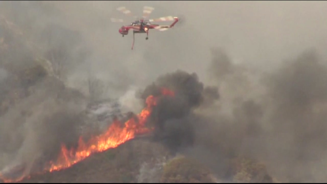 The Chimney Fire in San Luis Obispo County, Calif.,  has spread to over 4,000 acres and is now at 37,000 acres on Tuesday, August 23, 2016.