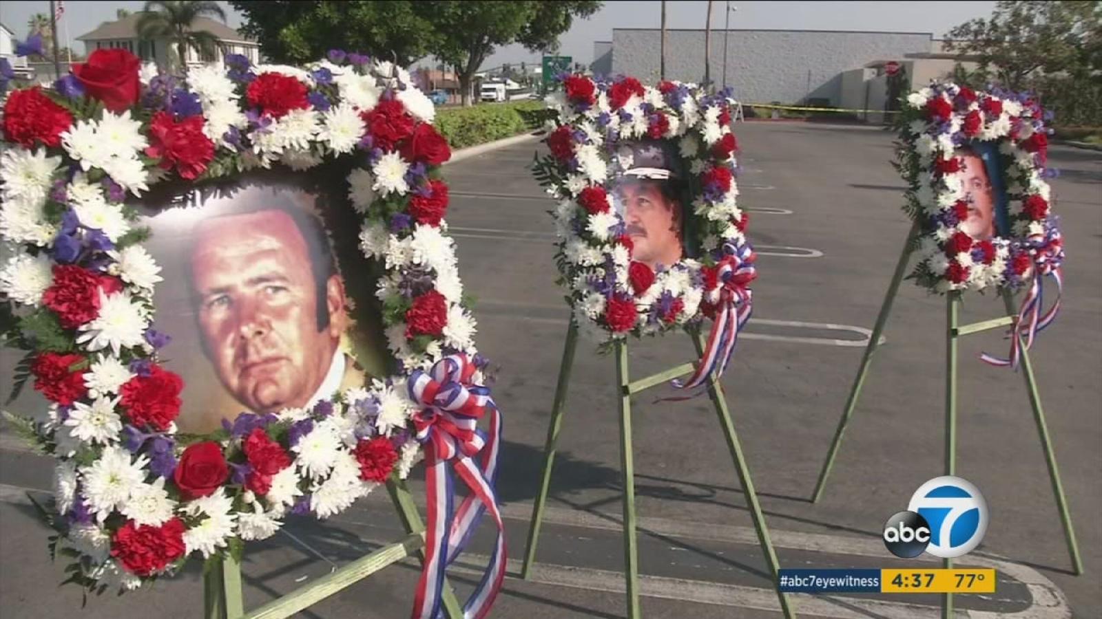Beach Boulevard Automotive >> Buena Park unveils memorial for fallen police officers | abc7.com