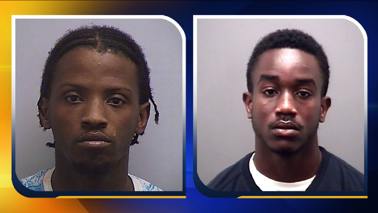 Aaron Domineek Williams, left, and Cameron Naquan Owens. No photo of Tajae Gabriel Stimpson available.