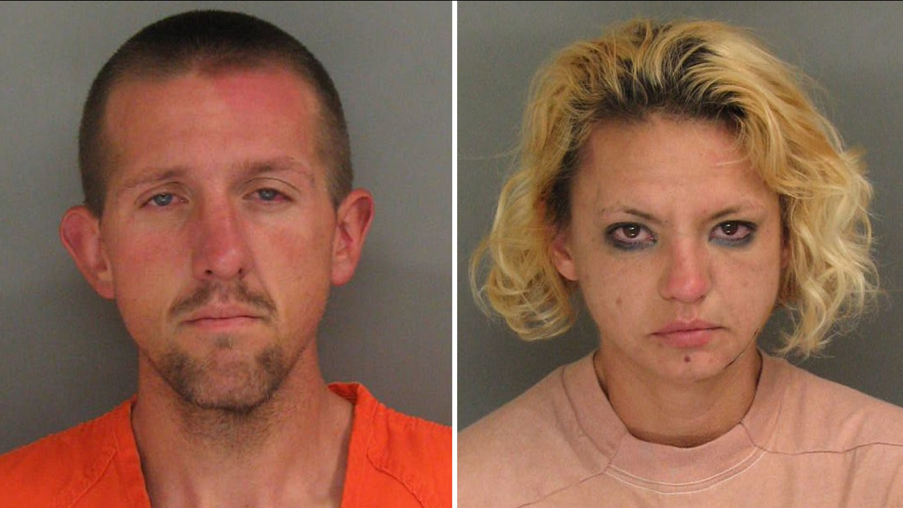 Nino Ruiz  and Jenessa Kic have been arrested in connection with a homicide in Santa Cruz, Calif. on Tuesday, August 23, 2016.