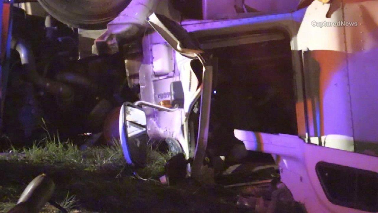 Semi driver killed in rollover crash westbound I-80/94 near