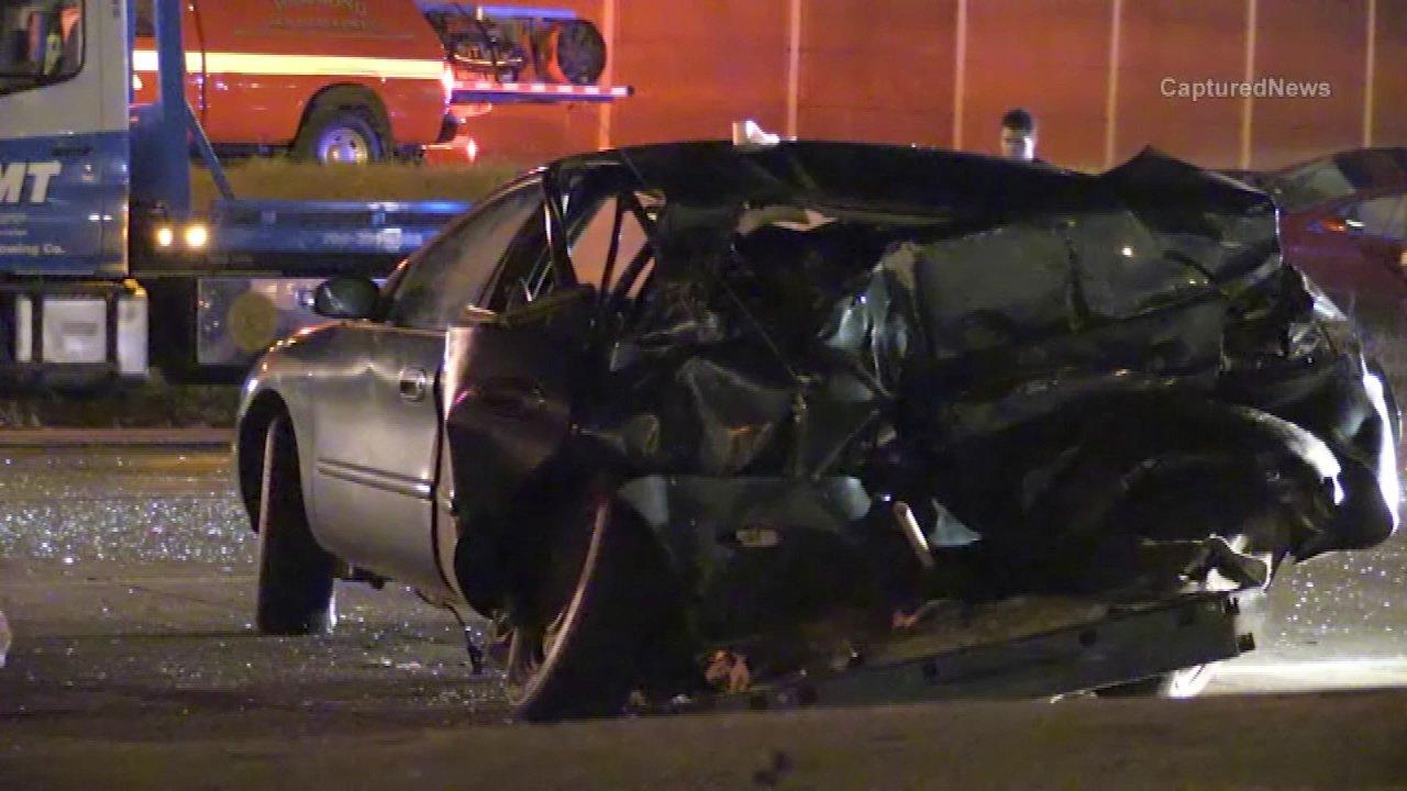 Semi driver killed in rollover crash westbound I-80/94 near Cline