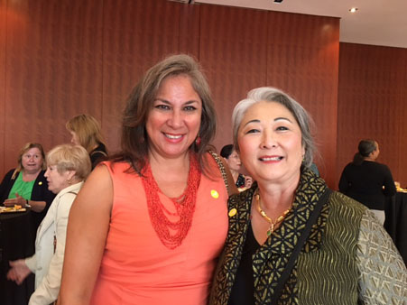 "<div class=""meta image-caption""><div class=""origin-logo origin-image none""><span>none</span></div><span class=""caption-text"">Local women in leadership roles gathered to hear Tupelo Capital Management founder Lulu Wang.</span></div>"
