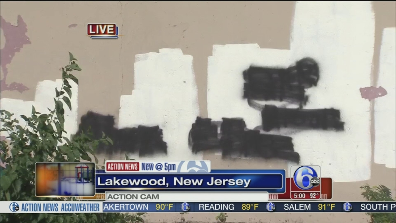 Vandals Spray Paint Hate Messages At Jewish Camp In Lakewood N J