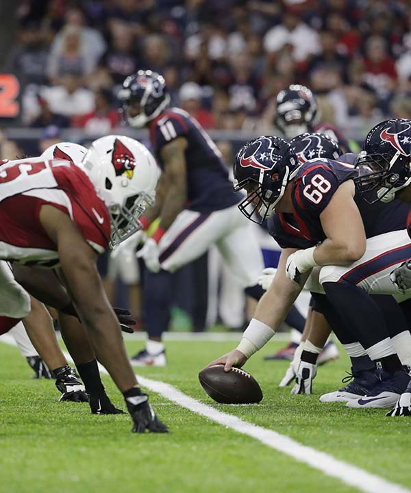 "<div class=""meta image-caption""><div class=""origin-logo origin-image none""><span>none</span></div><span class=""caption-text"">Arizona Cardinals and Houston Texans players line up during the second half of an NFL preseason football game, Sunday, Aug. 28, 2016, in Houston. (AP Photo/Jeff Roberson) (AP)</span></div>"