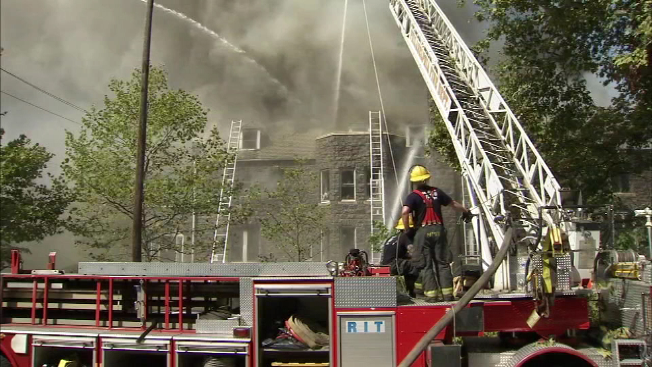 Fire destroys historic church in Overbrook | 6abc com