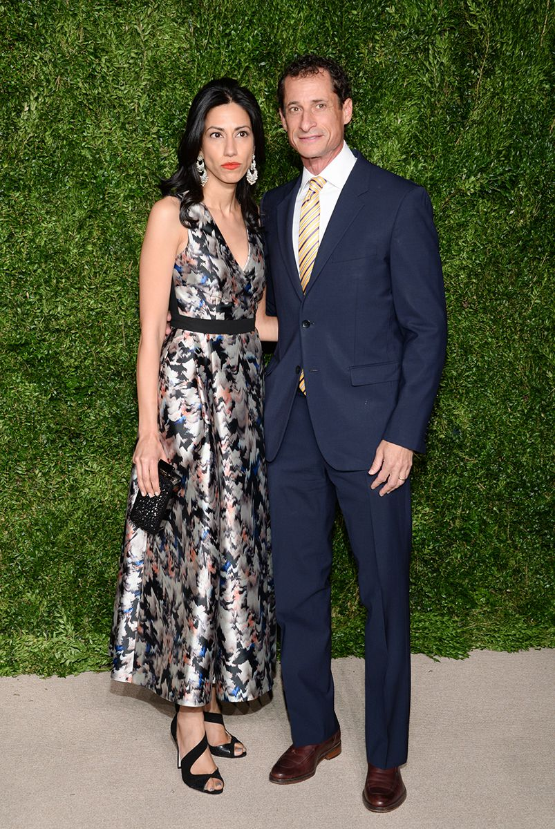 "<div class=""meta image-caption""><div class=""origin-logo origin-image ap""><span>AP</span></div><span class=""caption-text"">Former U.S. Rep. Anthony Weiner and wife, political aide Huma Abedin, attend the 12th Annual CFDA/Vogue Fashion Fund Awards at Spring Studios on Monday, Nov. 2, 2015, in New York. (Photo by Evan Agostini/Invision/AP)</span></div>"