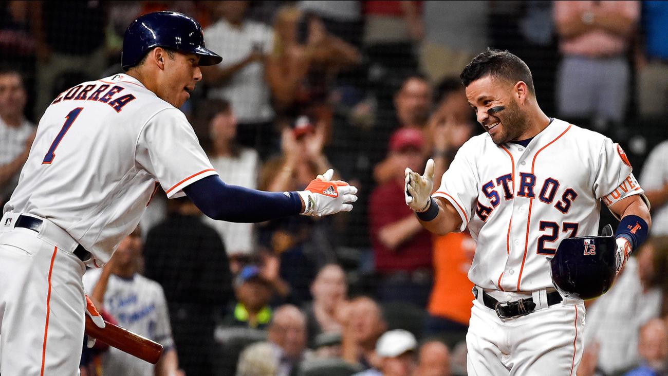 Carlos Correa - Jose Altuve - Houston Astros