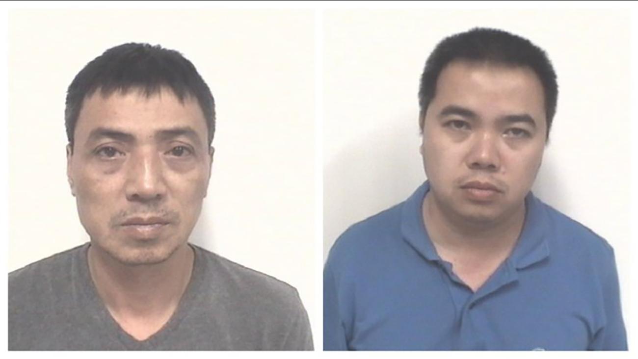 Hong Nguyen, 45, and Hai Nguyen, 37