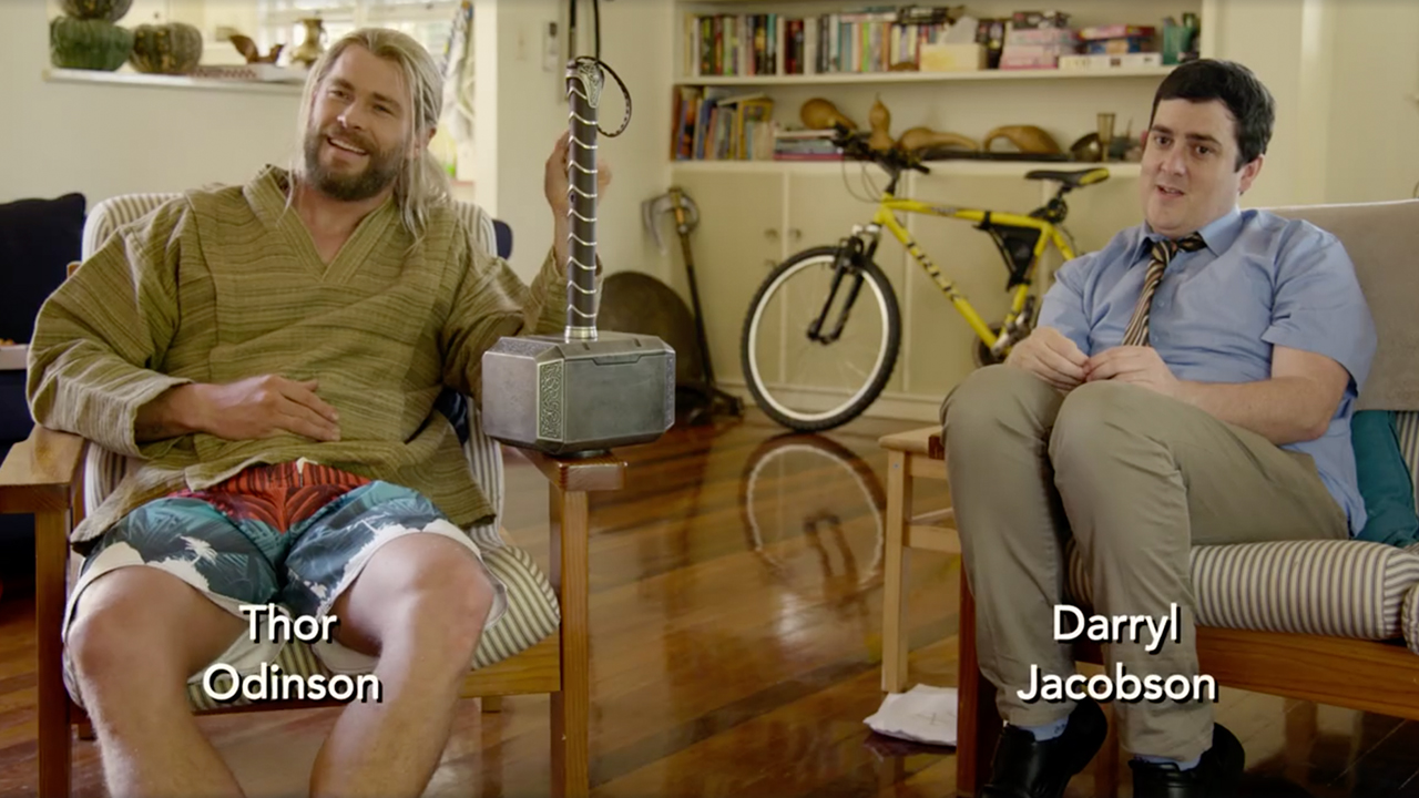 Image of Thor and Daryl Jacobson