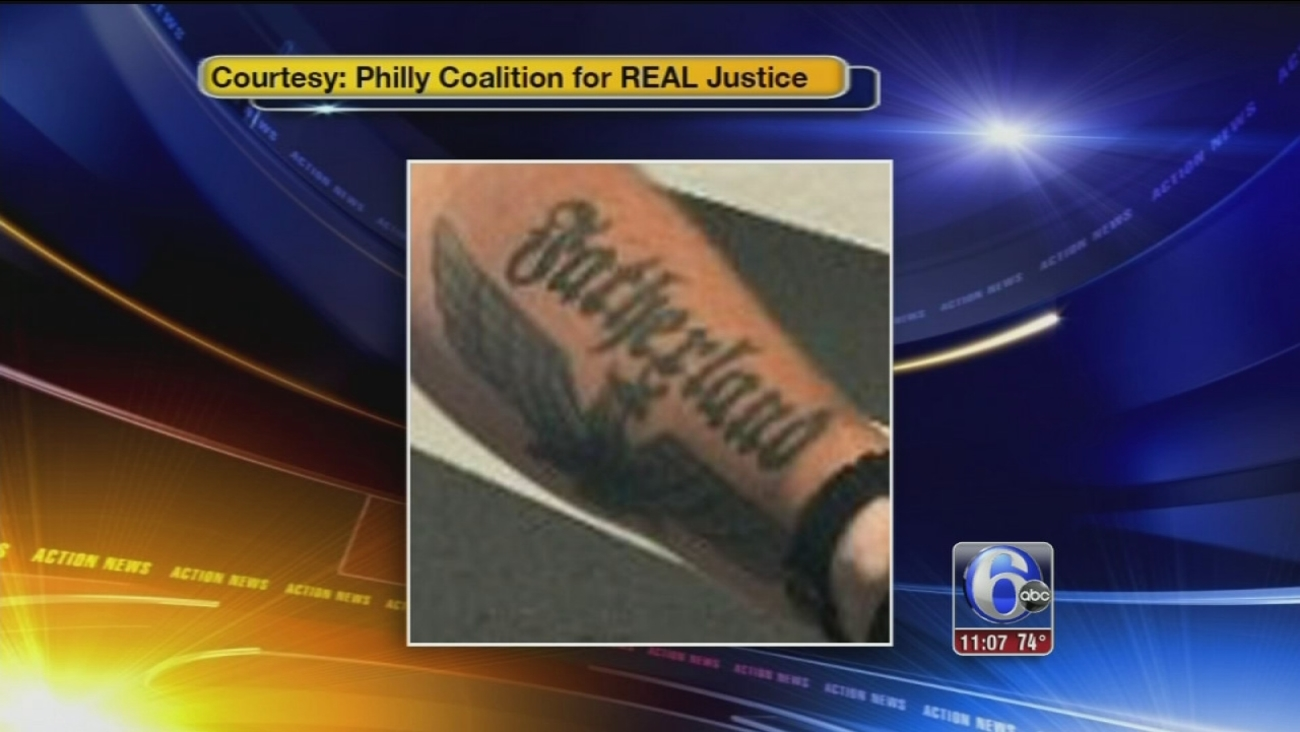 VIDEO: Philly cop tattoo 2