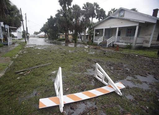 "<div class=""meta image-caption""><div class=""origin-logo origin-image none""><span>none</span></div><span class=""caption-text"">Seaweed covers a flooded street in Cedar Key, Fla. as Hurricane Hermine nears the Florida coast, Thursday, Sept. 1, 2016. (AP)</span></div>"