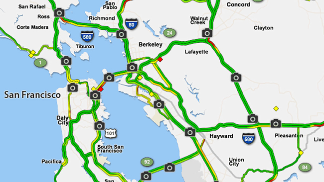 10 Busiest Traffic Spots In The Bay Area Abc7news Com