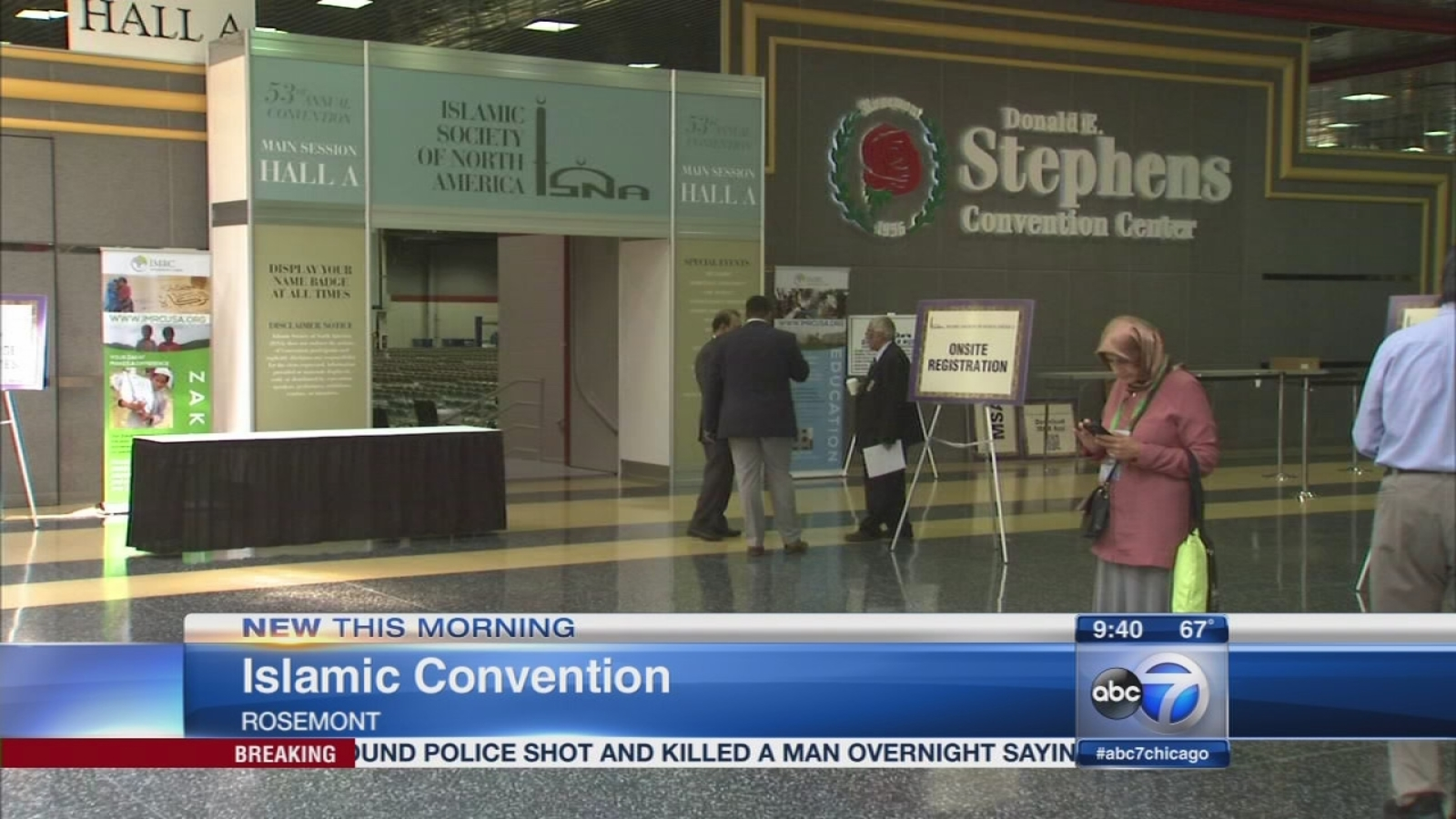 American Muslims hold largest anaual event in Chicago