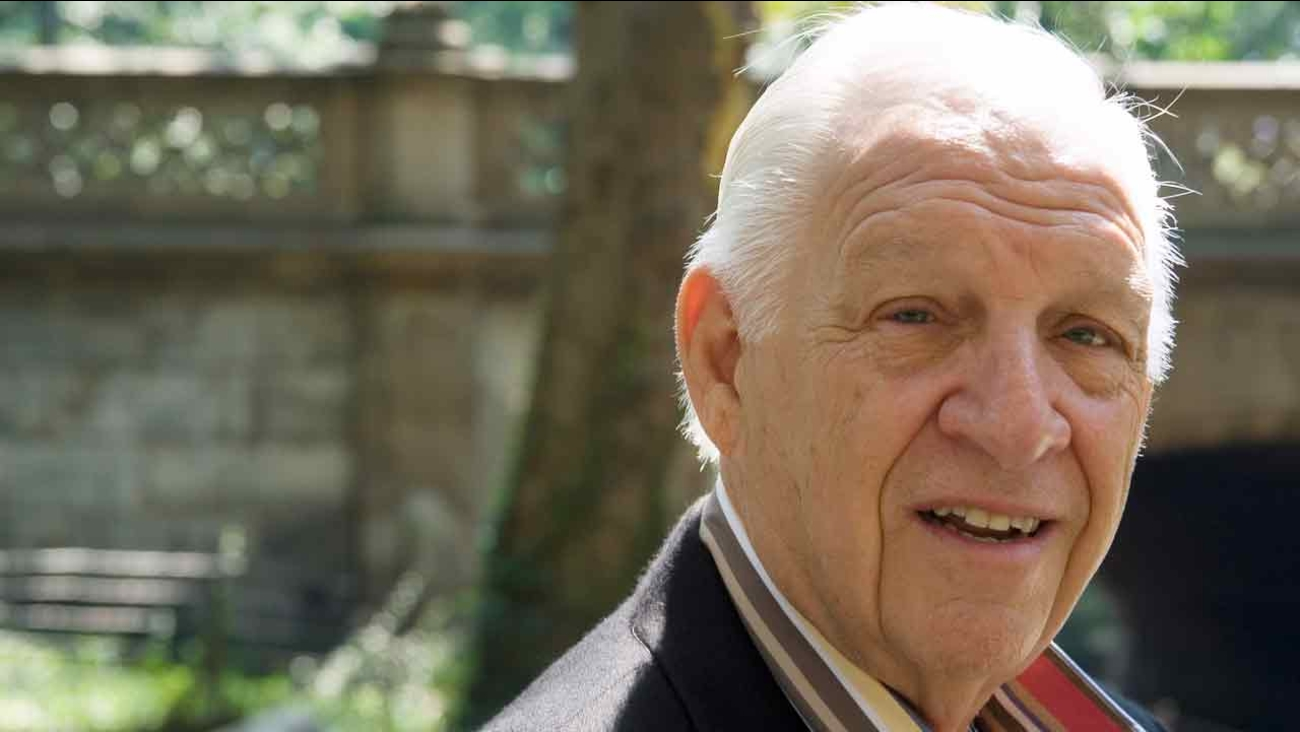 Music industry veteran Jerry Heller is photographed in New York's Central Park Aug. 14, 2006.