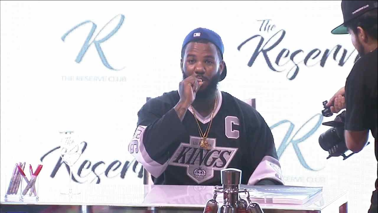 Rapper The Game announces his partnership on Friday, Sept. 2, 2016, with The Reserve, one of Southern California's leading medical cannabis dispensaries.