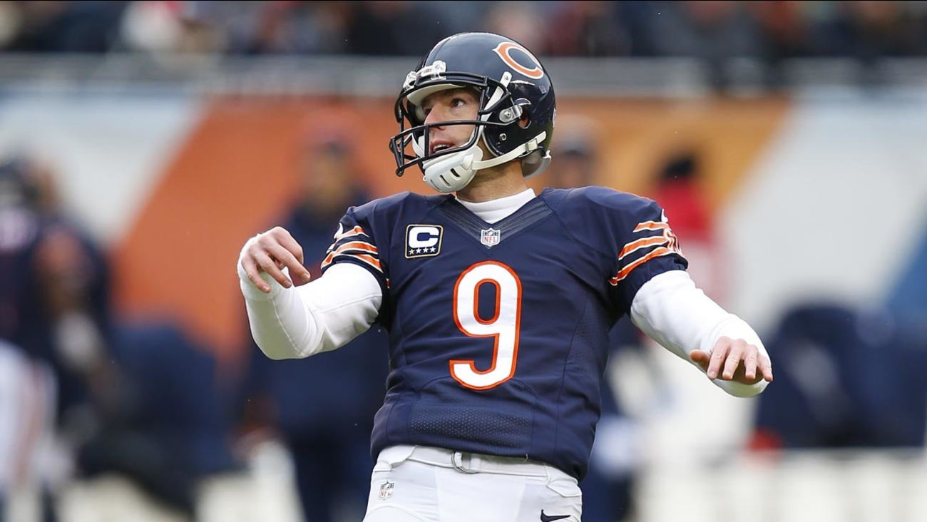 wholesale dealer 9cb25 0b16a Chicago Bears release veteran kicker Robbie Gould ...