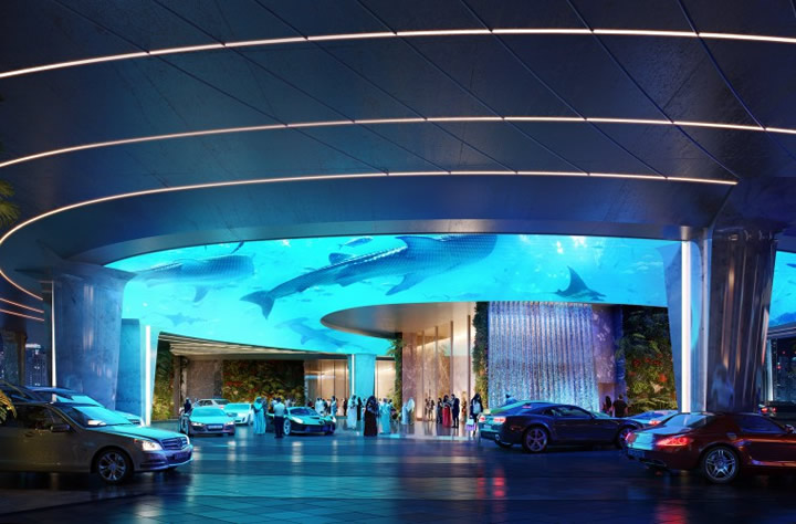 "<div class=""meta image-caption""><div class=""origin-logo origin-image none""><span>none</span></div><span class=""caption-text"">This undated image shows a rendering for a first-of-its-kind indoor tropical rainforest planned for the upcoming Rosemont Five Star Hotel & Residences in Dubai. (ZAS Architects)</span></div>"